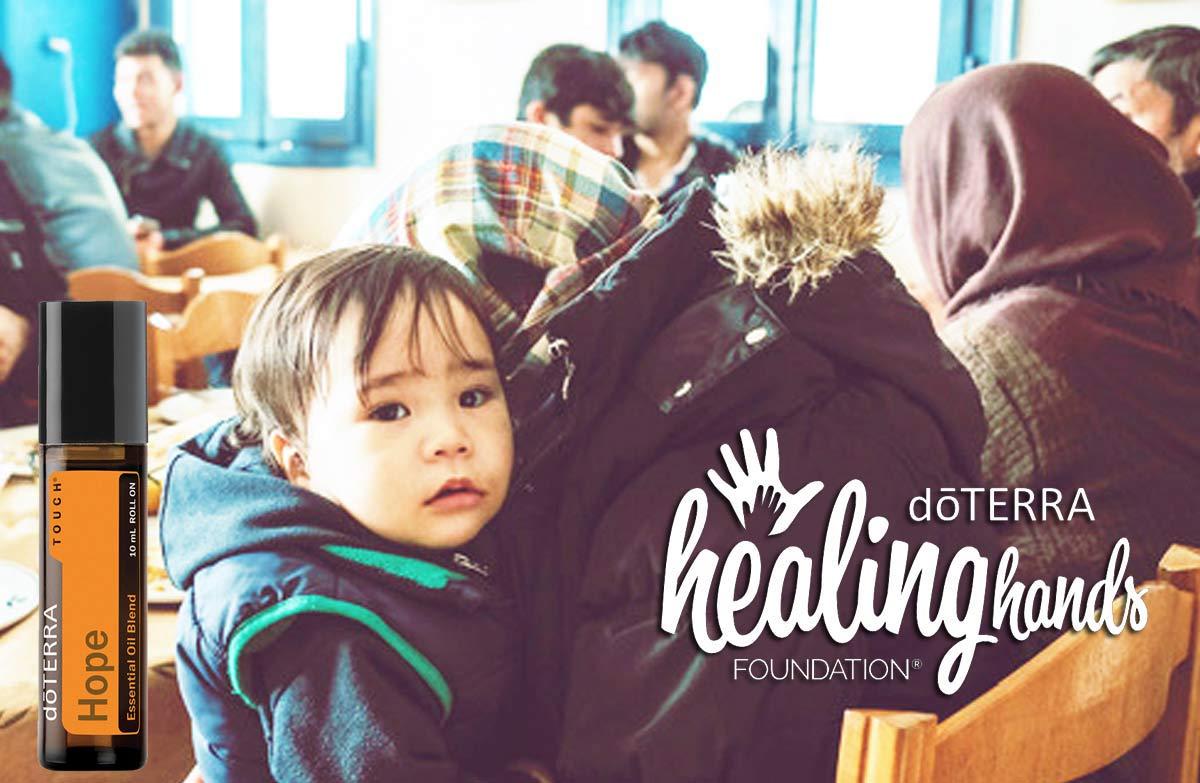 Healing Hands - doTERRA Kampagne für Lesbos