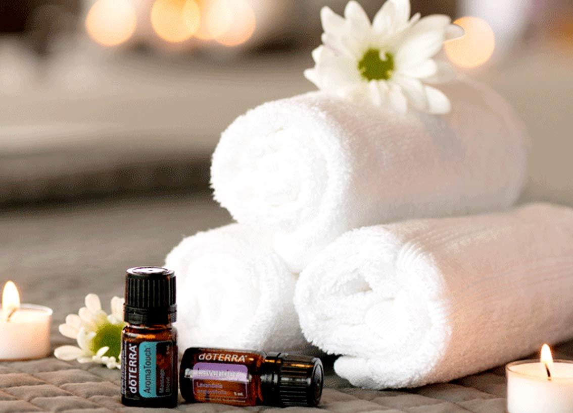 Aroma Touch - Berührung mit ätherischen Ölen