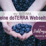 Dein eigener doTERRA Shop / Deine doTERRA Webseite